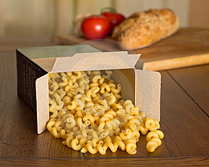 Uncooked Pasta Royalty Free Stock Photos - Image: 20278278