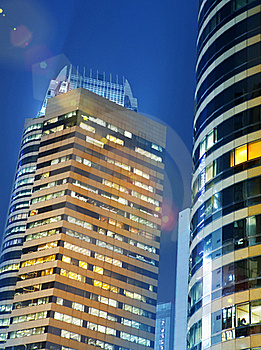 Skyscraper In Hong Kong Stock Photos - Image: 20279033