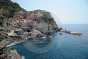 Stunning Italy - Village Of Manorola Royalty Free Stock Image - Image: 20280296
