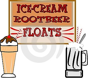 Root Beer Floats And Ice Cream Royalty Free Stock Photo - Image: 20280475
