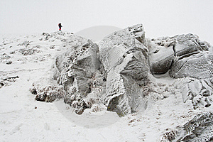 Frozen Rocks Stock Images - Image: 20280694