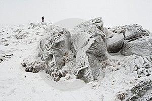 Frozen Rocks Stock Images - Image: 20280694