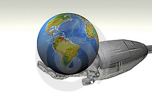 3d Globe Royalty Free Stock Images - Image: 20280709