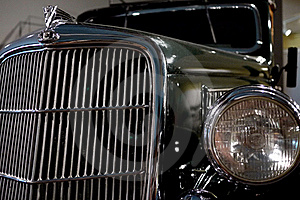 Classic Car Front Royalty Free Stock Images - Image: 20282519