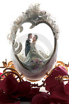 The Wedding Couple In A Carriage 2. Stock Photos - Image: 20284713