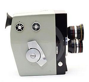 Movie Camera Stock Image - Image: 20285781