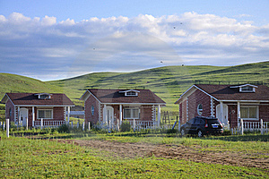 Resort Cabins Stock Photography - Image: 20286292