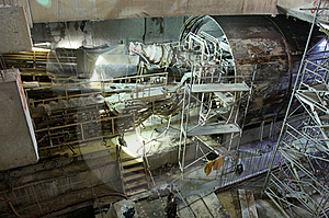 Tunneling Equipment Royalty Free Stock Images - Image: 20287809