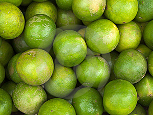 Many Of The Limes Royalty Free Stock Image - Image: 20290316