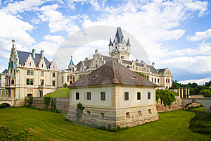 Classical Architecture Castle Stock Images - Image: 20291264