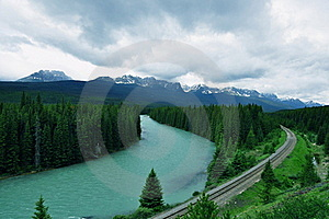 A River Runs Thru It Stock Images - Image: 20291654