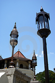 Temple Of Tooth Relic Royalty Free Stock Image - Image: 20292186