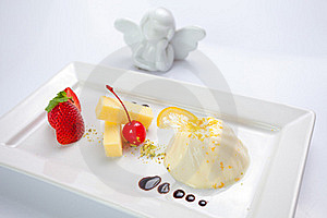 Cream Caramel Dessert Stock Images - Image: 20292244
