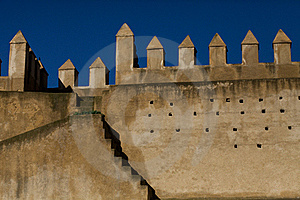 Medina Walls In Fez Royalty Free Stock Photography - Image: 20293727