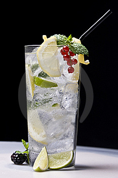 Refreshment cocktail Royalty Free Stock Images
