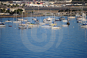 San Diego Harbor Royalty Free Stock Image - Image: 20296736