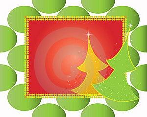 Christmas Card Gift Background  Illustration Stock Image - Image: 20297191