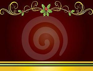 Christmas Card Gift Background  Illustration Royalty Free Stock Photography - Image: 20297217