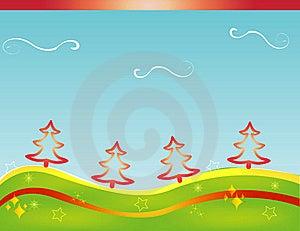 Christmas Card Gift Background  Illustration Stock Photo - Image: 20297310