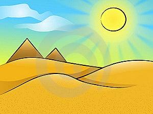 Desert Landscape Stock Images - Image: 20298084