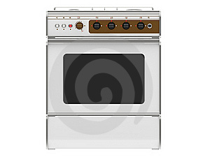 White Gas Cooker Royalty Free Stock Photo - Image: 20298745