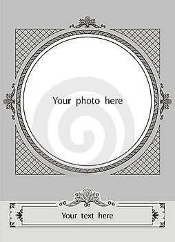 Vector Decorative Frame Stock Photos - Image: 20299343