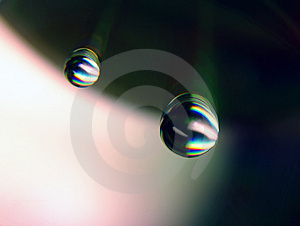 Falling Drops Stock Images - Image: 2031064