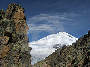 Mountain Elbrus.5642m. Free Stock Image