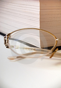 GLAS AND PAGES Royalty Free Stock Image - Image: 2036566