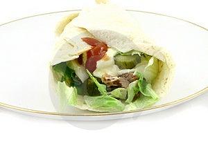 Tasty Wrap Stock Images - Image: 2038454