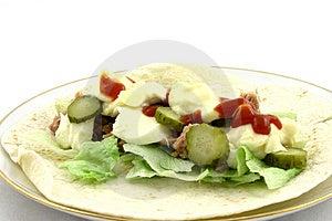 Tasty Wrap Stock Images - Image: 2038464