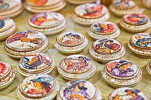 Ceramics Souvenir Shop Royalty Free Stock Photo - Image: 20300645
