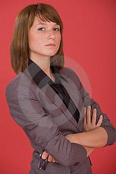 Serious Businesswoman Stock Image - Image: 20301211