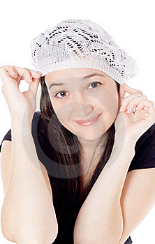 Girl In The Hat Royalty Free Stock Image - Image: 20302686