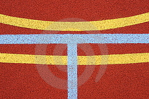 Lines On The Pitch 2 Royalty Free Stock Photo - Image: 20304405