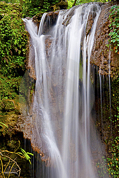 Water Fall: White Water In Flow Royalty Free Stock Photo - Image: 20304855