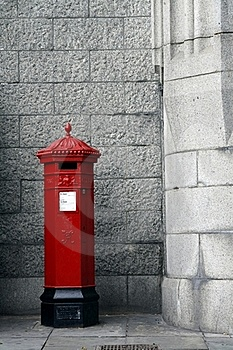 Post box Royalty Free Stock Photo