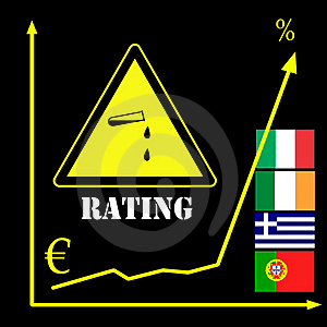 Rating Agencies And The Euro Stock Image - Image: 20306251