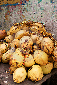 Bunch Of Coconuts Stock Photos - Image: 20306693