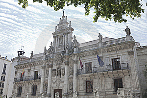 University Of Valladolid Stock Images - Image: 20308214