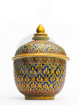 Thai Pottery Stock Photo - Image: 20308730
