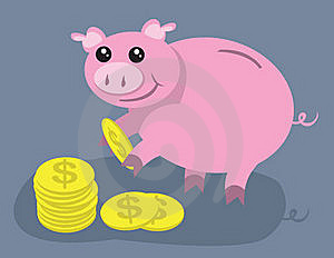 Piggy Bank Royalty Free Stock Photography - Image: 20308877