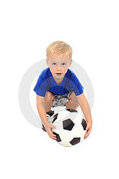 Little Soccer Player Stock Image - Image: 20308931