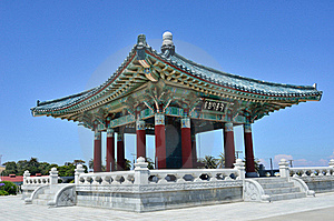 Korean Bell Of Friendship Royalty Free Stock Image - Image: 20309436