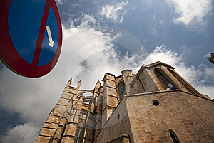 Cathedral In Palma, Mallorca, Spain Stock Images - Image: 20312204
