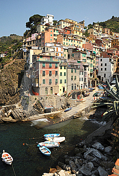 Village Of Riomaggiore - Italy At It's Best Stock Photo - Image: 20316160