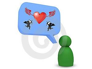 Love Bubble Stock Photos - Image: 20318733