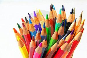 Colouring Crayon Pencils Stock Photos - Image: 20319063