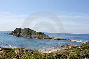 Cap Taillat Peninsula On The French Riviera Stock Photography - Image: 20320552