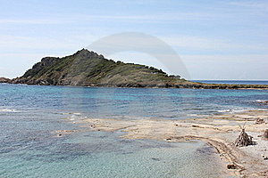 The Peninsula Of Cap Taillat On The French Riviera Royalty Free Stock Image - Image: 20320666